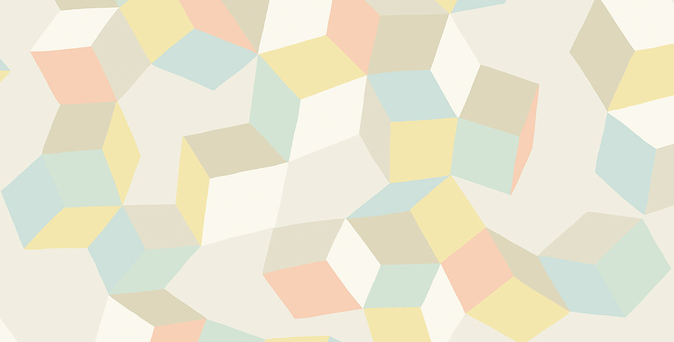 Cole & Son - Geometric II Puzzle Pale Pastel 105/2009