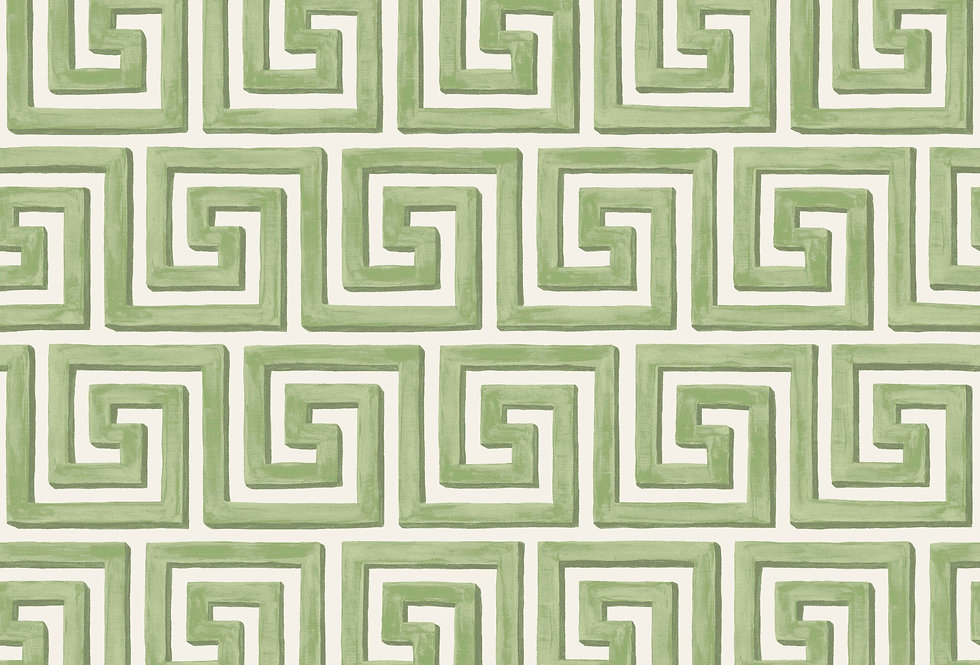 Cole & Son - HRP Queens Key Green 98/5019