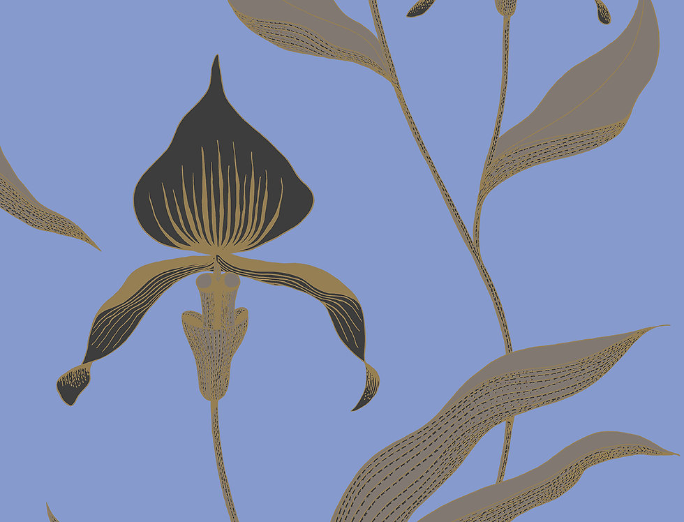 Cole & Son - New Contemporary Orchid Yellow 66/4030