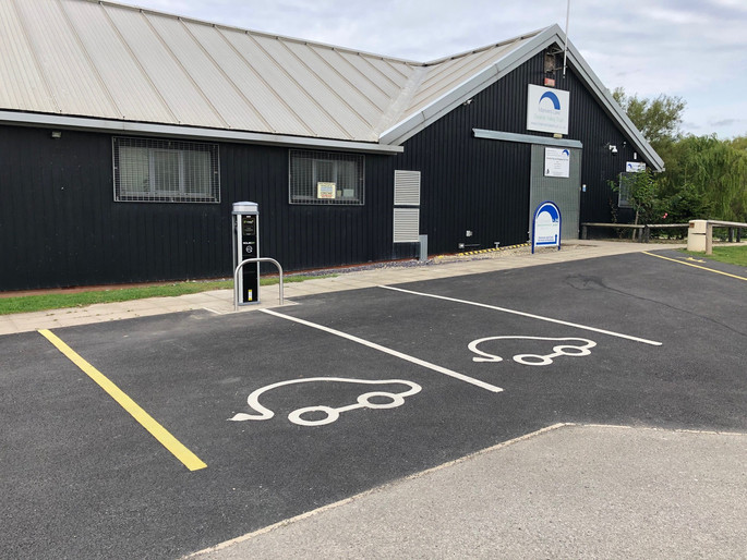 EV Charge Point at Manvers Boat Club
