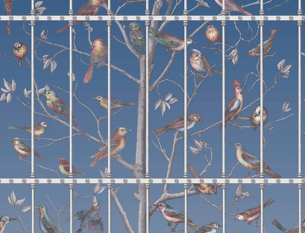 Cole & Son - Fornasetti Uccelli Cerulean Sky 114/11023
