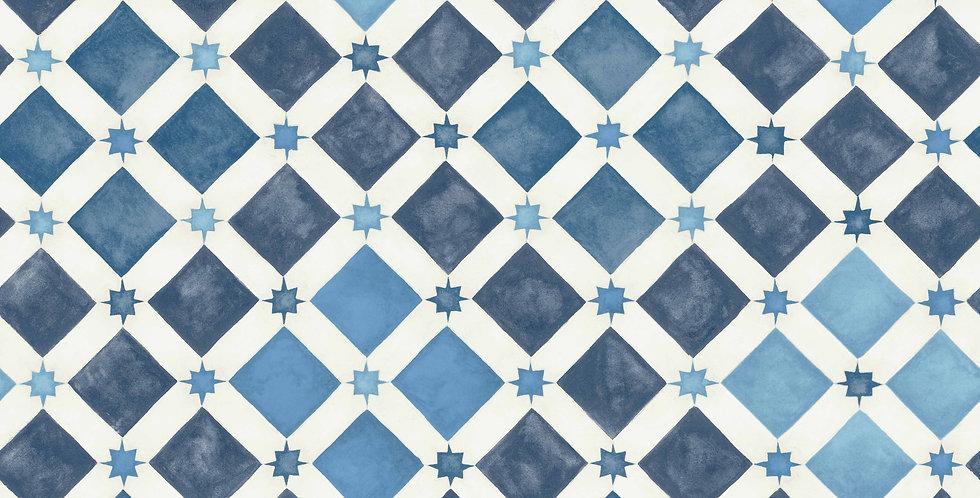 Cole & Son - MLB Zellige China Blue & White 113/11032