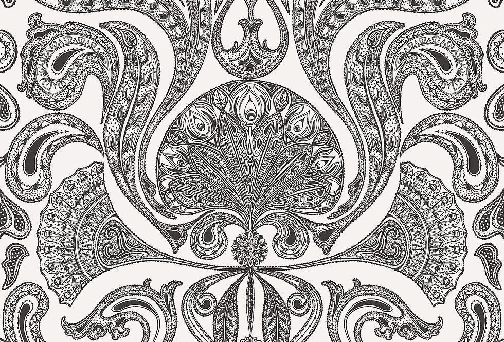 Cole & Son - New Contemporary Malabar White 66/1004