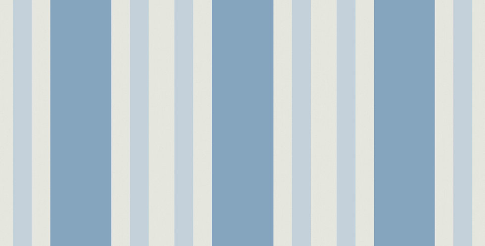 Cole & Son - Marquee Stripes Polo Stripe Blue 110/1006