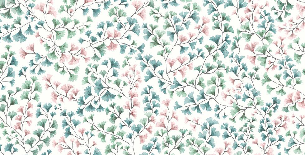 Cole & Son - Botanica Maidenhair Petrol, Blush & Mint 115/6017
