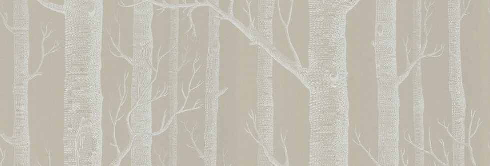 Cole & Son - The Contemp Coll Woods White on Old Olive 69/12149