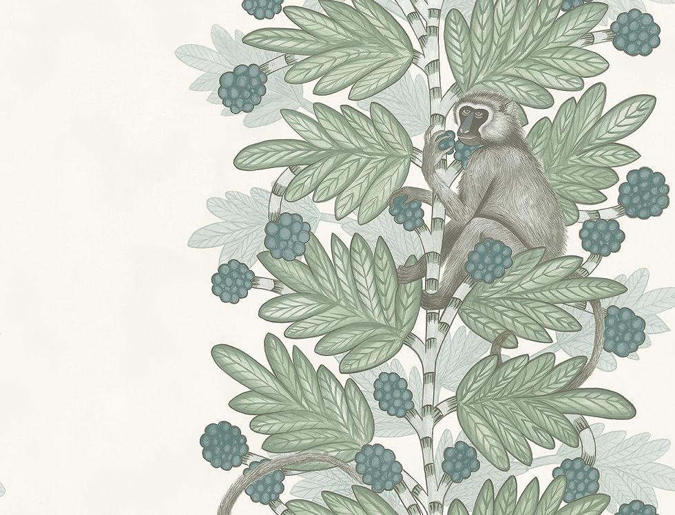 Cole & Son - Ardmore Acacia Blue + Green 109/11052