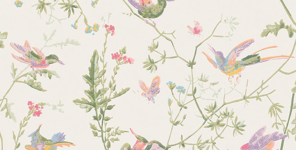 Cole & Son - Archive Anthology Hummingbirds Soft Multi-Colour 100/14067