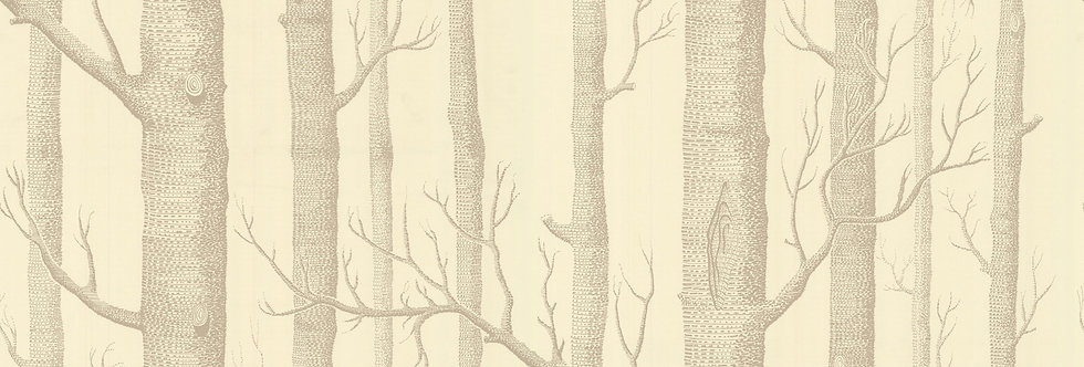 Cole & Son - The Contemp Coll Woods Linen on Cream 69/12148
