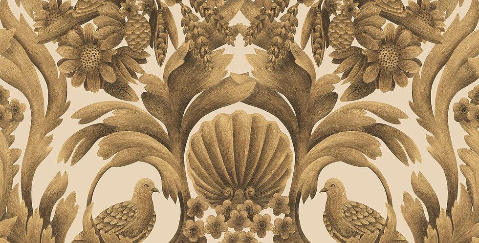 Cole & Son - HRP GM Metallic Gold on Sand 118/9019