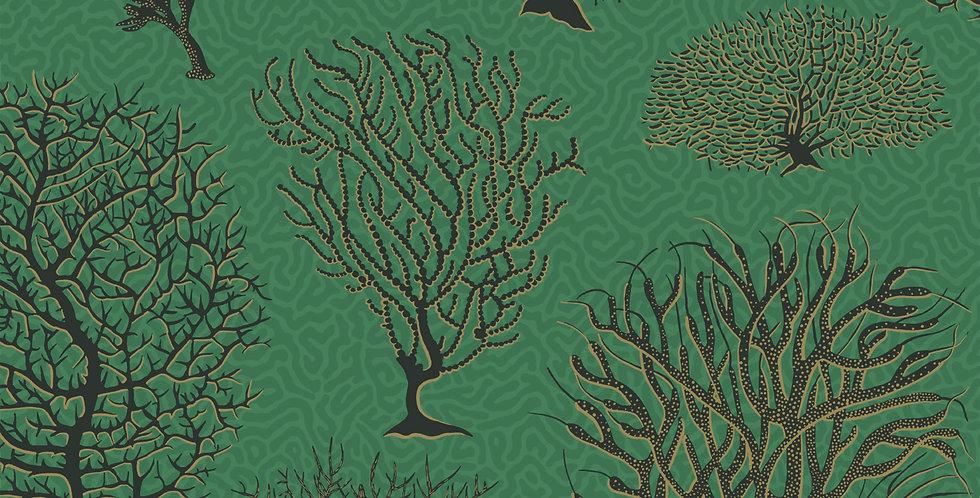 Cole & Son - Curio Seafern Emerald 107/2007