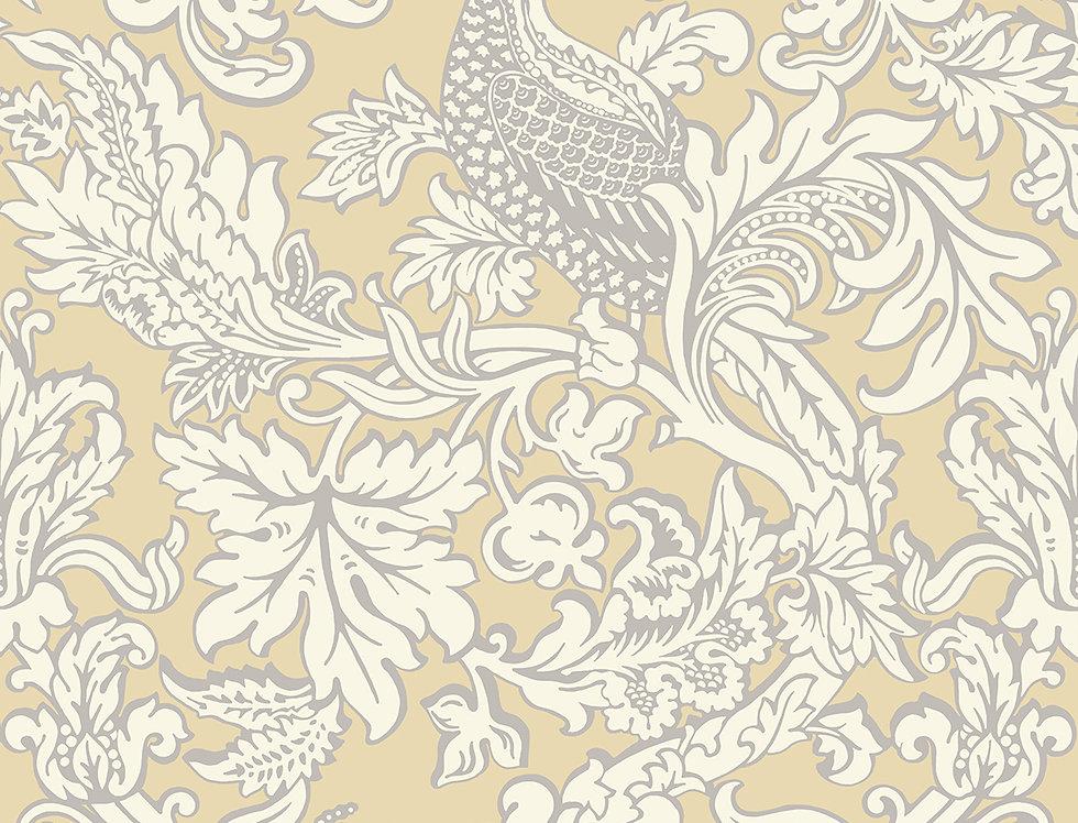 Cole & Son - Mariinsky Damask Balabina Vintage Yellow 108/1001