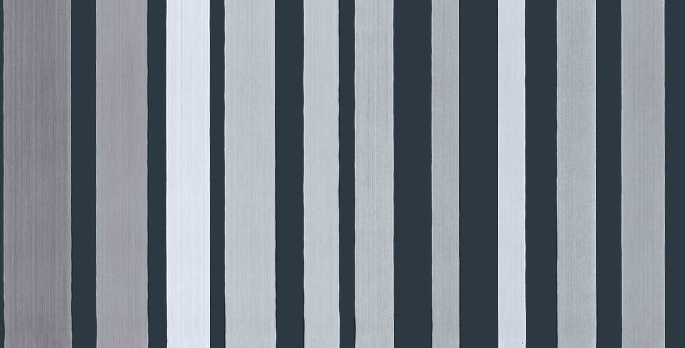 Cole & Son - Marquee Stripes Carousel Stripe Grey 110/9043