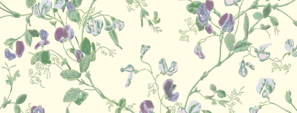 Cole & Son - Archive Anthology Sweet Pea Violet 100/6030