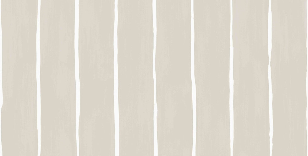 Cole & Son - Marquee Stripes Marquee Stripe Soft Grey 110/2011