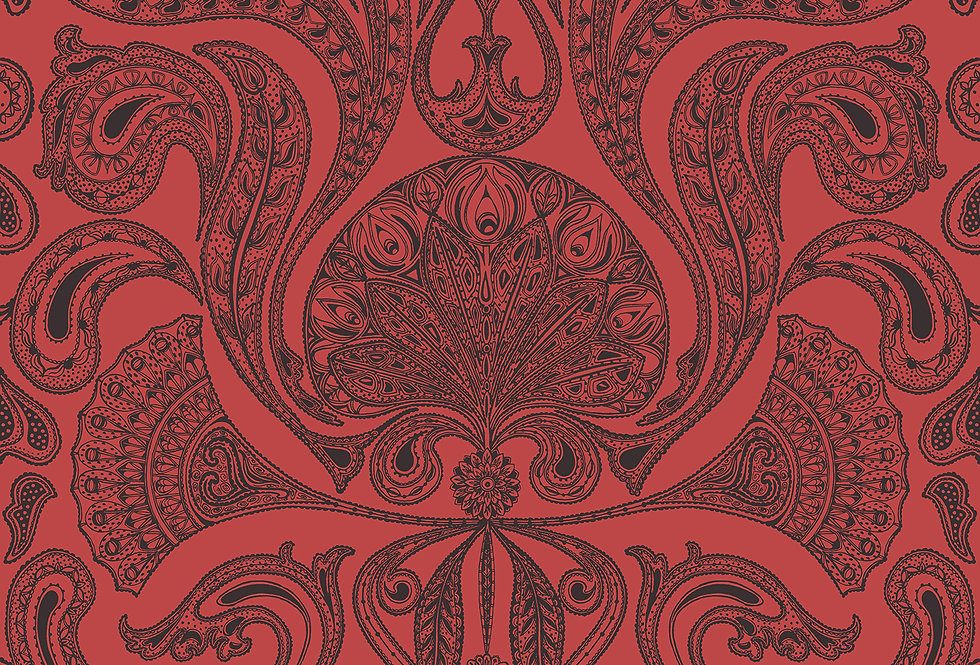 Cole & Son - New Contemporary Malabar Red 66/1008