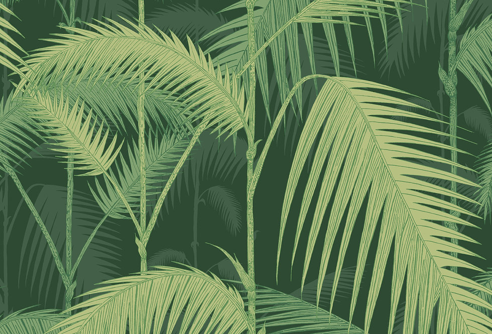 Cole & Son - Icons Palm Jungle Forest Green 112/1003