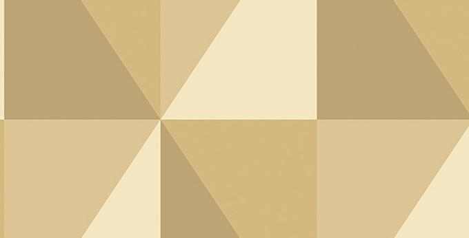 Cole & Son - Geometric II Apex Grand Gold 105/10042