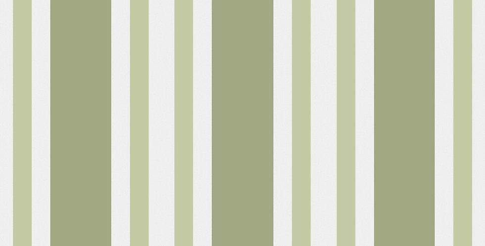 Cole & Son - Marquee Stripes Polo Stripe Leaf Green 110/1003