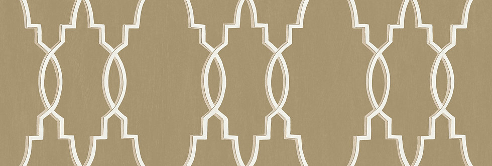 Cole & Son - Folie Parterre Border Gold 99/3017