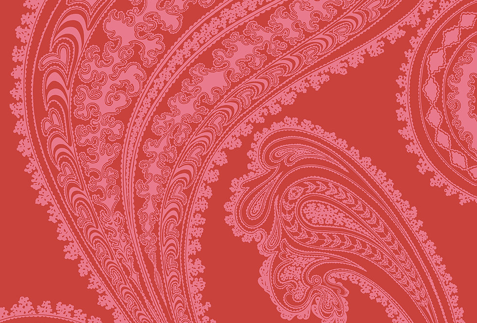 Cole & Son - New Contemporary Rajapur Red 66/5041