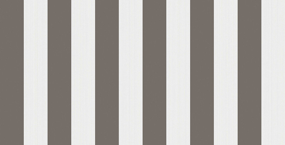 Cole & Son - Marquee Stripes Regatta Stripe Black & White 110/3016