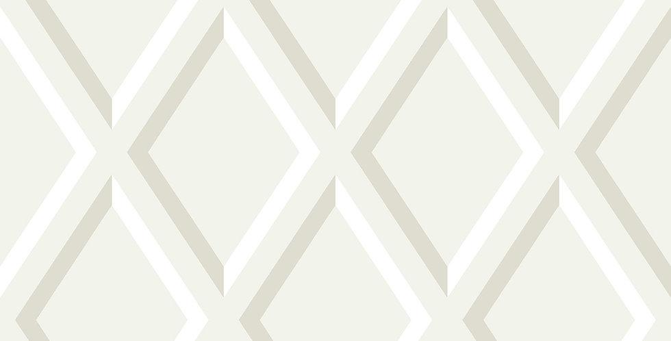 Cole & Son - Contemporary Restyled Pompeian White & White 95/11060