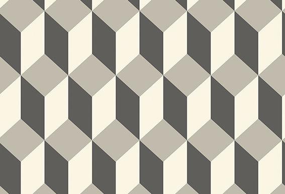 Cole & Son - Geometric II Delano Grey & Black 105/7031