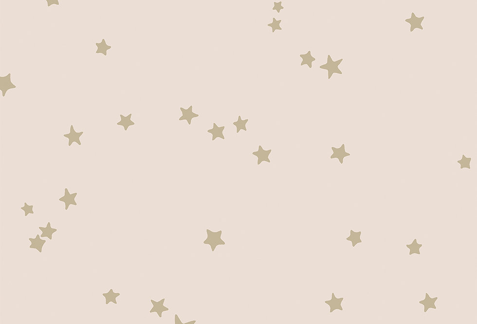Cole & Son - Whimsical Stars Pink & Gold 103/3015