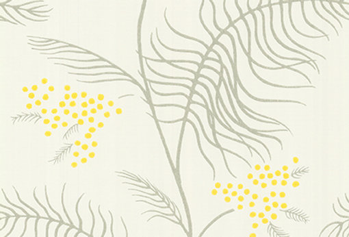 Cole & Son - New Contemporary II Mimosa Yellow 69/8132