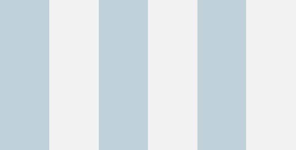 Cole & Son - Marquee Stripes Glastonbury Stripe Pale Blue 96/4022