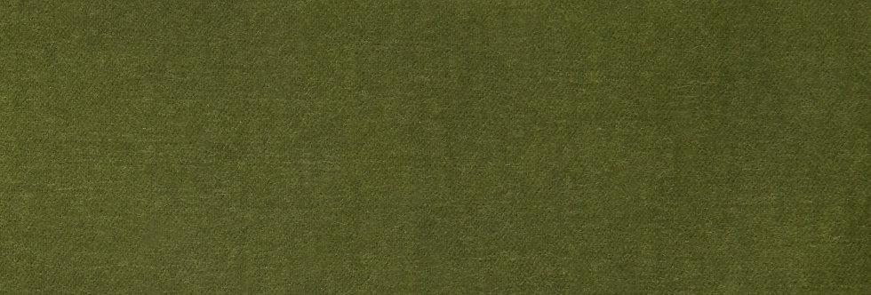 Cole & Son - The Contemp Coll Fabrics Colour Box Velvet Olive Green F111/11042