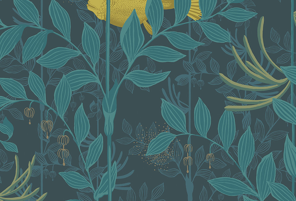Cole & Son - Whimsical Nautilus Dark Blue 103/4018