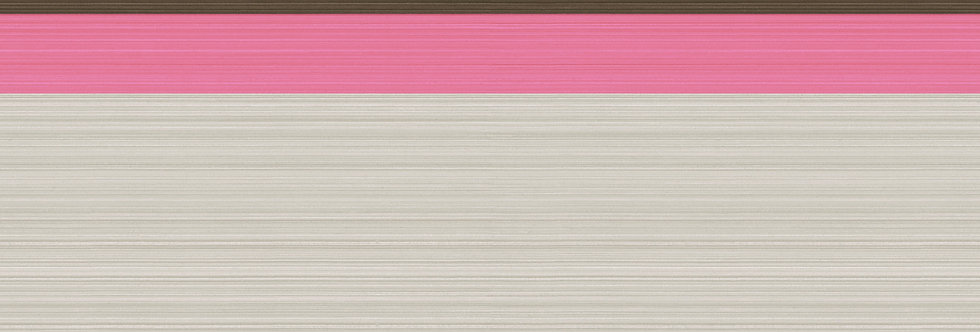 Cole & Son - Marquee Stripes Jaspe Border Charcoal & Pink 110/10050