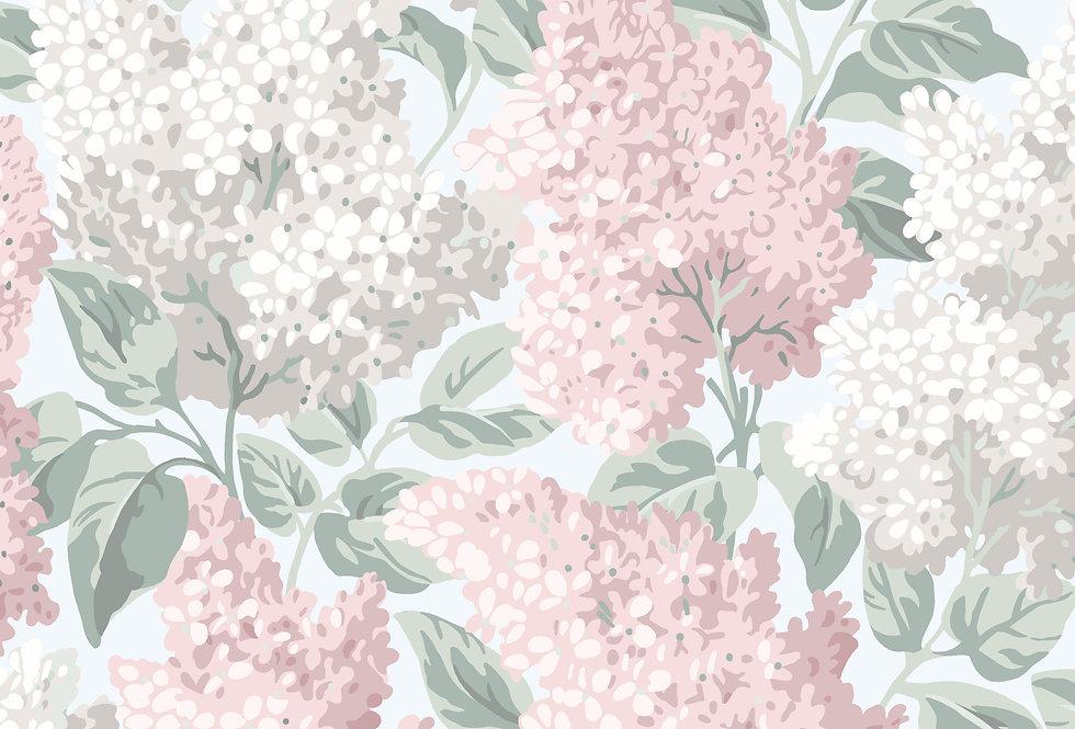 Cole & Son - Botanica Lilac Ballet Slipper & Dove on Silver Birch 115/1002