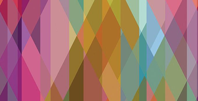 Cole & Son - Geometric II Prism Multi-Coloured 105/9040