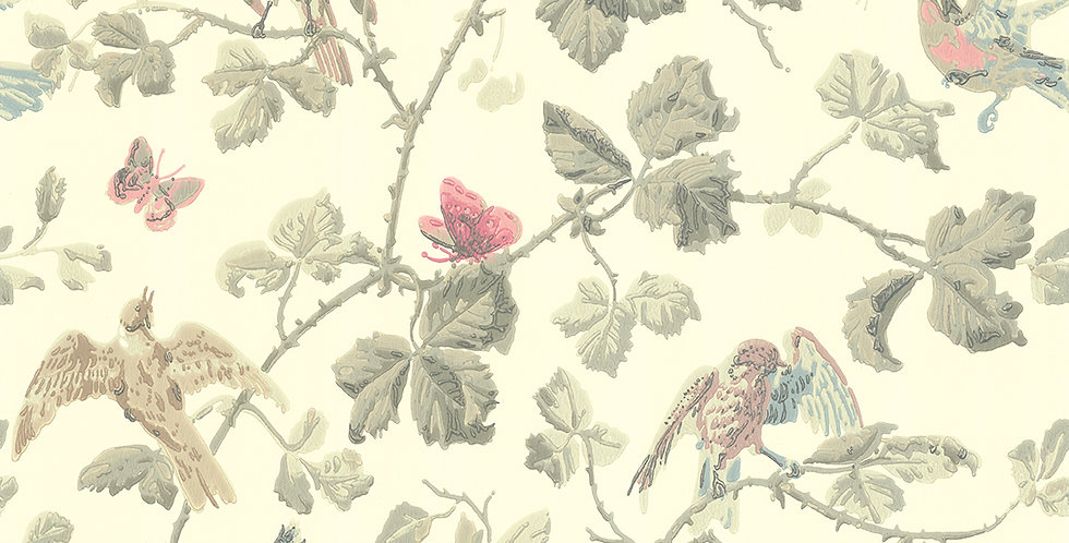 Cole & Son - Archive Anthology Winter Birds Linen 100/2009
