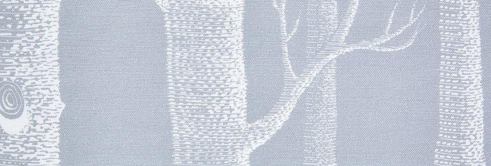 Cole & Son - The Contemp Coll Fabrics Woods White on Soft Grey F111/7025LU