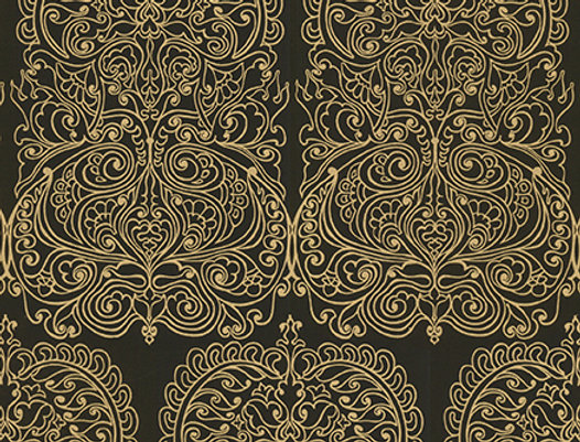 Cole & Son - New Contemporary II Alpana Yellow 69/2105