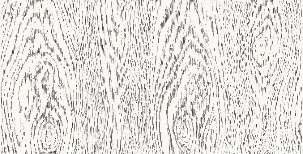 Cole & Son - Curio Wood Grain Black & White 107/10045