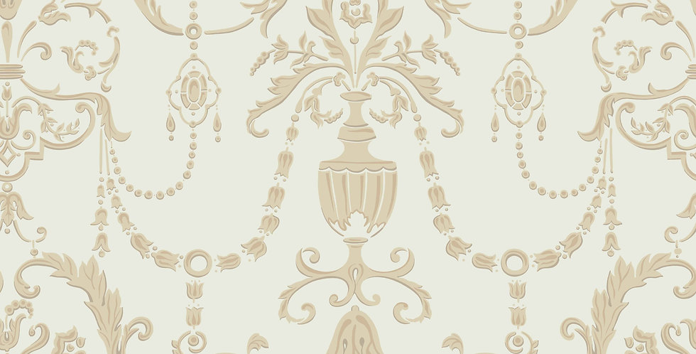 Cole & Son - HRP Regalia Olive & Gold 98/12053