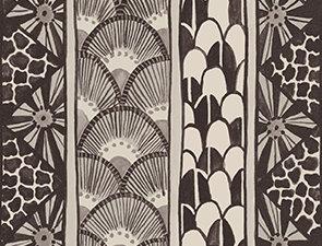 Cole & Son - Ardmore Border Black White 109/5025
