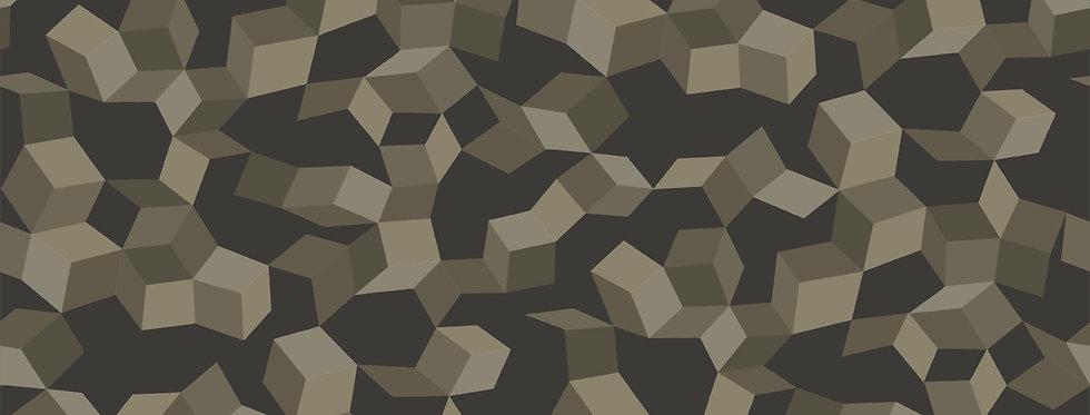 Cole & Son - Curio Ingot Charcoal & Silver 107/5026