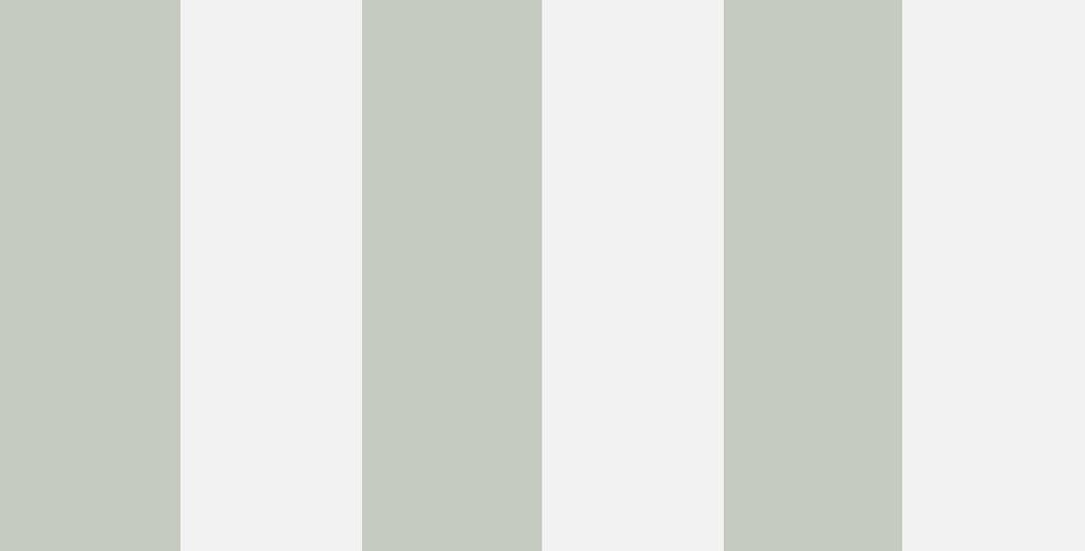 Cole & Son - Marquee Stripes Glastonbury Stripe Sage 96/4020
