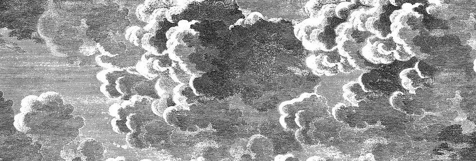 Cole & Son - Fornasetti Senza Tempo Nuvole Black & White 114/29058