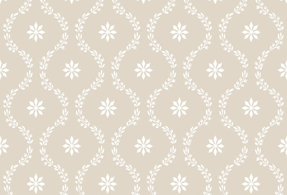 Cole & Son - Archive Traditional Clandon Taupe & White 88/3010