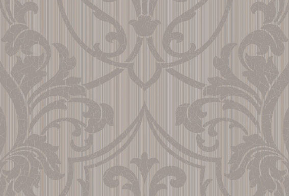 Cole & Son - Archive Traditional Petersburg Damask Mink & Biscuit 88/8033