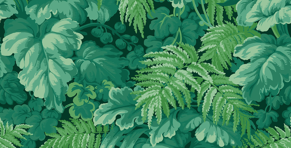 Cole & Son - MLB Royal Fernery Forest Green 113/3009