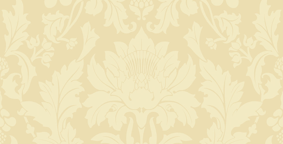 Cole & Son - Mariinsky Damask Fonteyn Vintage Yellow 108/7038