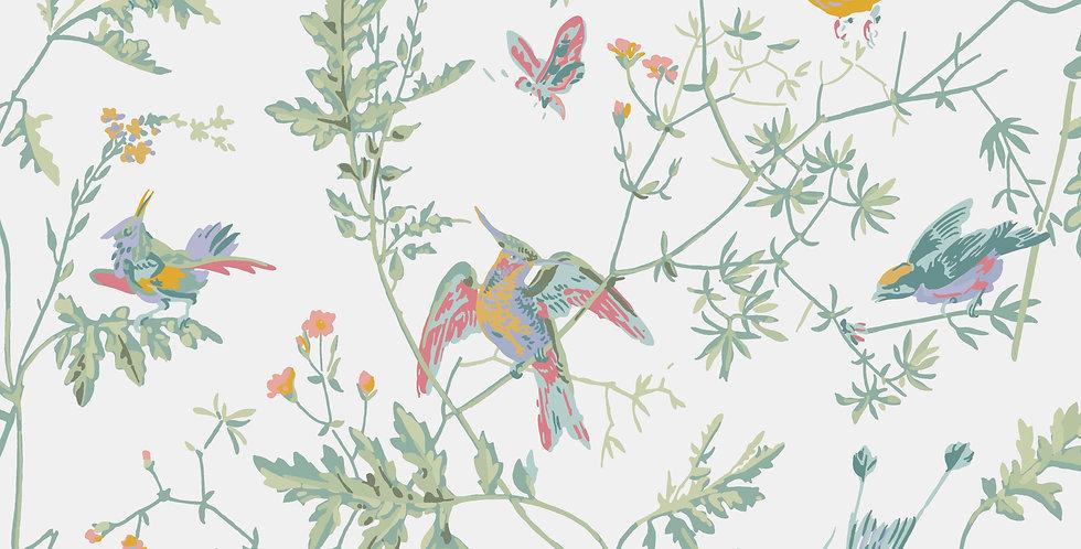 Cole & Son - Icons Hummingbirds Pastel 112/4016